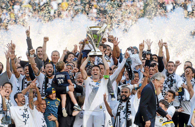 Los Angeles Galaxy pun pernah mendapatkan gelar juara liga Champion Concacaf